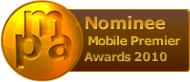 Mobile Premier Awards 2010 Nominee